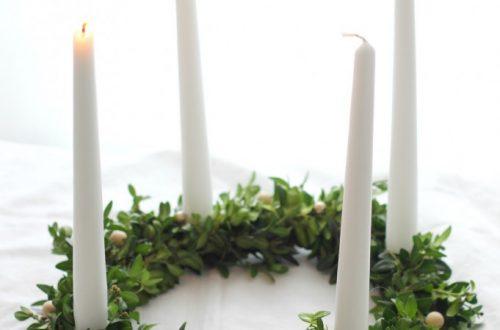 Adventskrans voor advent